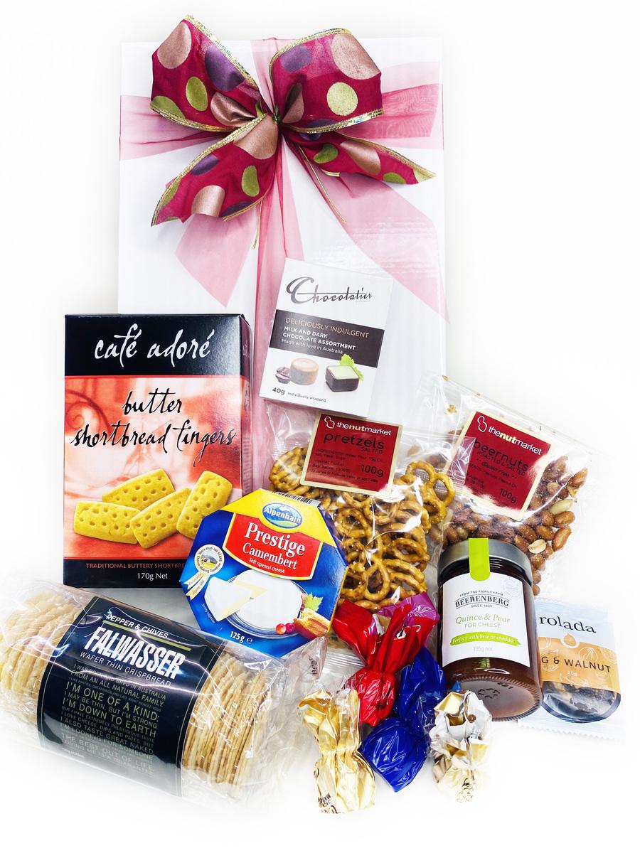 Wedding Gift Delivery Brisbane : Simply Fine Gourmet Hamper Gift Baskets Brisbane & Australia