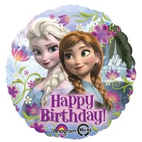 Happy Birthday Disney's Frozen Foil Balloon- (BNE Delivery)