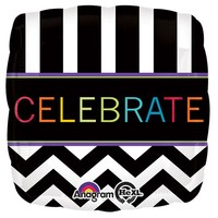 CELEBRATE Foil Balloon - (BNE Delivery)