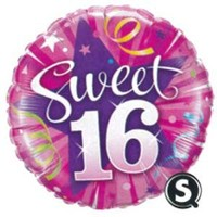 Sweet 16 Foil Balloon - (BNE Delivery)