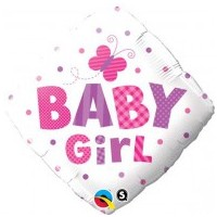Baby Girl Butterfly and Spots - (BNE Delivery)