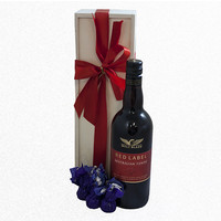 Port and Chocolates Gift