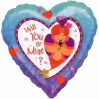 Be Mine Genie Foil Balloon - (BNE Delivery)