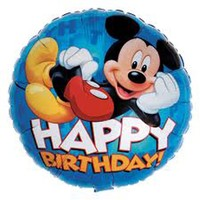 Mickey Mouse Kids Balloon (BNE Delivery)
