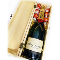 Moet and Chocolates Gift Box