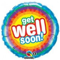 Get Well Soon Balloon - (BNE Delivery)