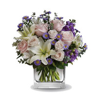 Heartfelt Arrangement in a Vase