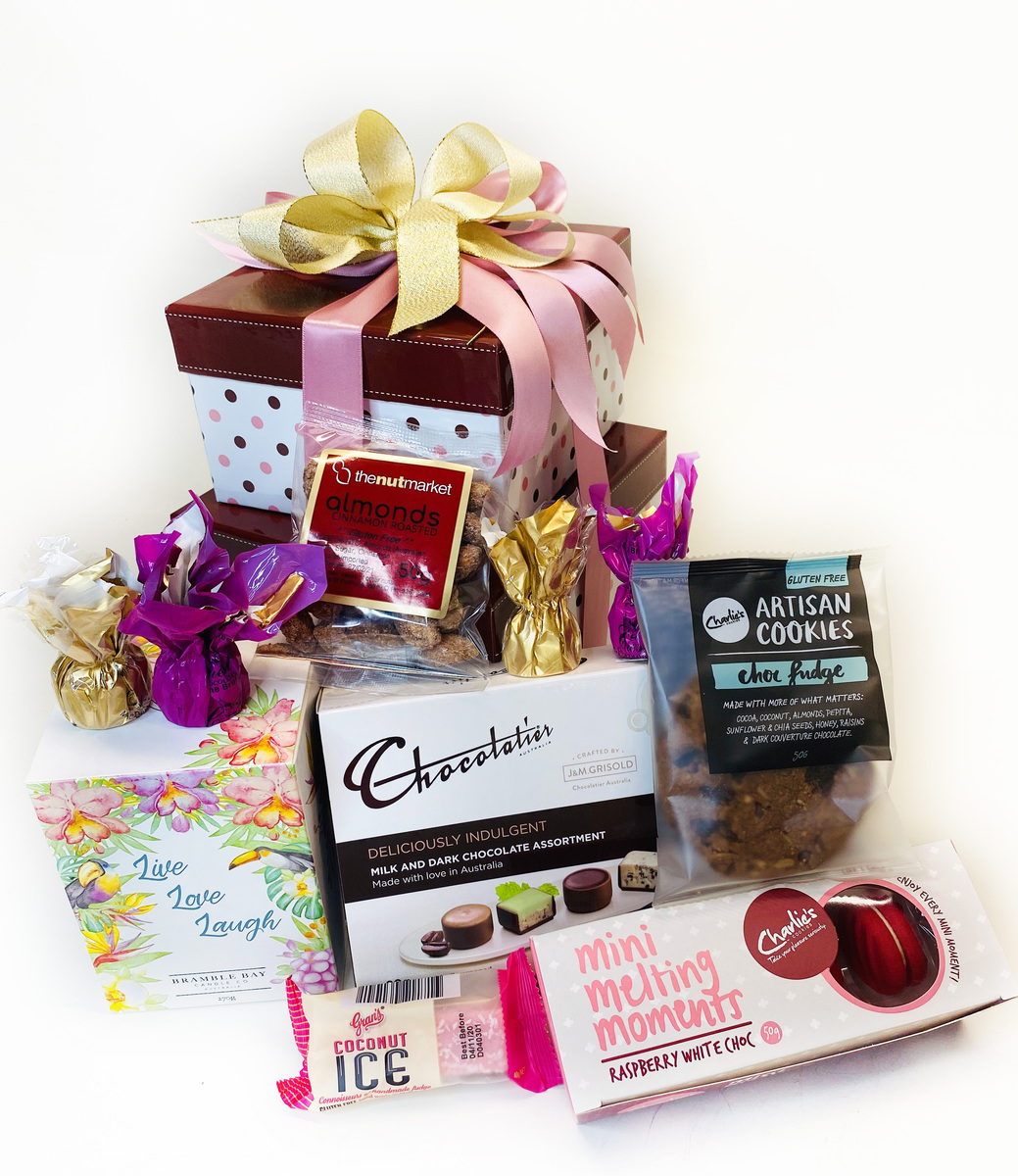 Mum's Double Gift Delight | Brizzie Baskets Mothers day product photo