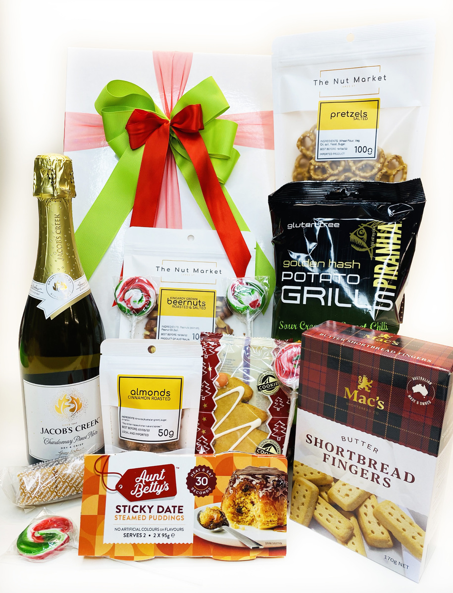 Sparkling Wine and Nibbles | Gourmet Christmas product photo