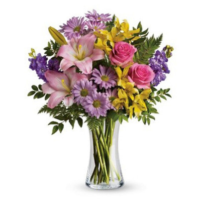 Precious Flowers in a Vase