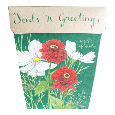 Add a Gift of Seeds - Seeds 'n Greetings!